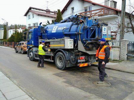 Czyszczenie sieci kanalizacyjnej