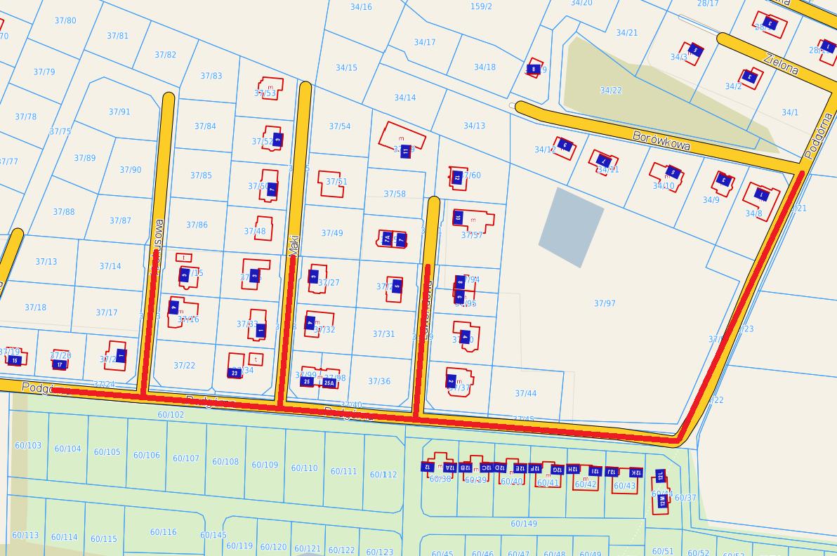 zdjęcie mapy Podgorna